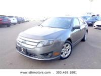 Get acquainted with our One Owner 2011 Ford Fusion SE