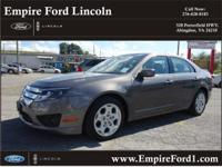 Options:  2011 Ford Fusion Se|Se 4Dr Sedan|2.5L|4