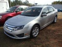 Options:  2011 Ford Fusion Se|Silver|12-Volt|2 Power
