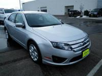 Just Arrived** This Silver 2011 Ford Fusion is powered