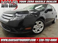 2011 Ford Fusion Sedan SE Our Location is: Haus Auto