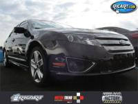 ONE OWNER VEHICLE!!! Fusion Sport, Duratec 3.5L V6,