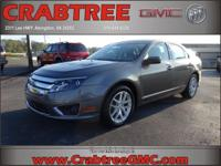 Options:  2011 Ford Fusion Sel|Sel 4Dr Sedan|3.0L|6