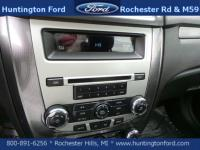 Sunroof / Moonroof, Tuxedo Black Metallic 2011 Ford
