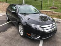2011 Ford Fusion SEL. 6-Speed Automatic. Black Beauty!