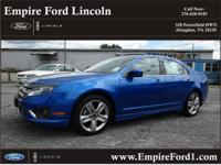 Options:  2011 Ford Fusion Sport|Sport 4Dr Sedan|3.5L|6