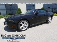 Mustang GT, 2D Convertible, 5.0L V8 Ti-VCT 32V, and