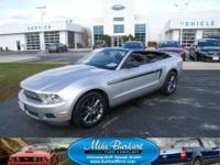 2011 FORD MUSTANG V6 PREMIUM CONVERTIBLE, ONLY 5537