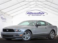 LOW MILAGE MUSTANG COUPE! LEATHER, AUTOMATIC, ALLOY