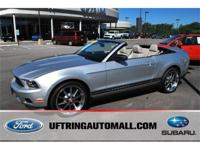 2011 Ford Mustang Premium Convertible. This pre-owned