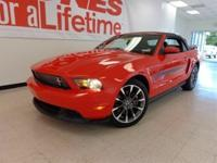 Exterior Color: red, Body: Convertible, Fuel: Gasoline,