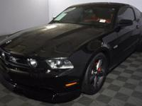 Mustang GT Premium! 6 speed with manual transmission.