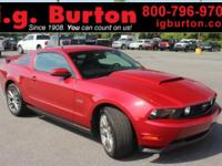 2011 Ford Mustang GT Premium ***GARAGE KEPT BY PREVIOUS