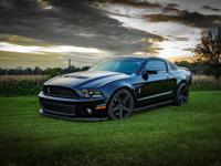 2011 Ford Mustang Shelby GT500 5.4L V8 Coupe.  Very