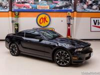 2011 Ford Mustang V6 Premium  Beautiful Black 2011 Ford