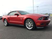 CARFAX One-Owner. 2011 Ford Mustang V6 Premium Race Red