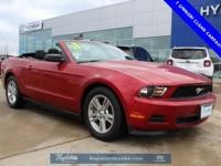 CARFAX One-Owner. Clean CARFAX. Red Candy Metallic