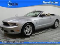 Mustang V6 Premium, 2D Convertible, 3.7L V6 Ti-VCT 24V,
