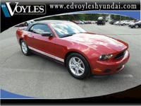 2011 Ford Mustang V6 in Red Candy.KBB Fair Market Range