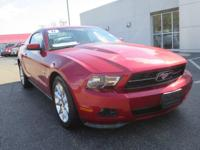 2011 Ford MustangV6 Premium in Red Candy Metallic