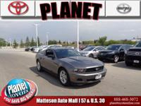 2011 Ford Mustang V6 Gray ABS brakes, Alloy wheels,