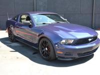 This 2011 Ford Mustang 2dr 2dr Coupe V6 features a 3.7L