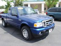 Ranger XLT, Ford Certified, 4.0L V6 SOHC, 5-Speed
