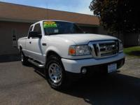 2011 FORD RANGER XLT 4X4 SUPERCAB WITH ONLY 53K MILES!