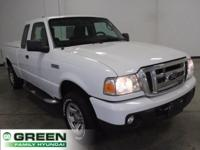 2011 Ford Ranger XLT Oxford White RWD 5-Speed Automatic