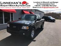 You are looking at a one owner 2011 Ford Ranger Super