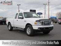 This outstanding example of a 2011 Ford Ranger XLT is