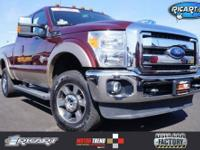 ONE OWNER VEHICLE!!! F-250 SuperDuty Lariat, 4D
