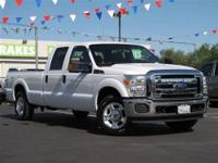This 2011 Ford Super Duty F-350 XLT Truck features a