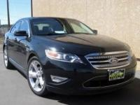 This beautiful used 2011 Ford Taurus SHO runs like new