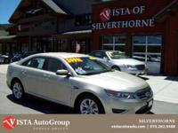 This 2011 Ford Taurus has a clean Carfax and is Vista