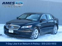 Get to know this stunning 2011 Ford Taurus SEL Sedan