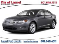 Win a bargain on this 2011 Ford Taurus SEL before it's