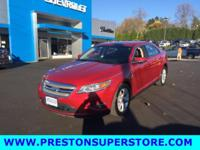 Options:  2011 Ford Taurus Sel|Red|*Loaded!* *2011 Ford
