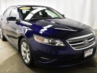 This outstanding example of a 2011 Ford Taurus SEL is