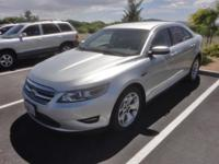 2011 Ford Taurus SEL Silver FWD 6-Speed Automatic with