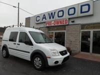 Options:  2011 Ford Transit Connect Xlt|White|One