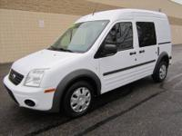 CHECK OUT THIS SPACIOUS 4-Dr 2011 FORD TRANSIT CONNECT