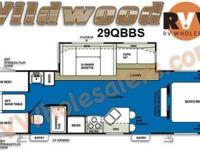 2011 Forest River Wildwood 29QBBS Travel Trailer Color