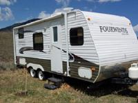 Four Winds Travel Trailer by Dutchmen w/Rear Living