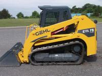2011 Gehl CTL75 Cab Unit  Forecast says rain; Track