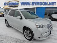 Options:  2011 Gmc Acadia Denali|Awd Denali 4Dr