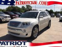 Options:  2011 Gmc Acadia Denali|Awd And Cloth. There's