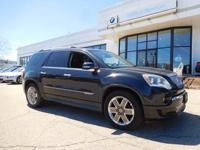 PREMIUM & KEY FEATURES ON THIS 2011 GMC Acadia include,
