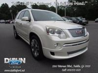 2011 GMC Acadia Denali FWD  *BLUETOOTH MP3*, *CLEAN