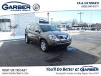 Introducing the 2011 GMC Acadia SLE! Featuring a 3.6L